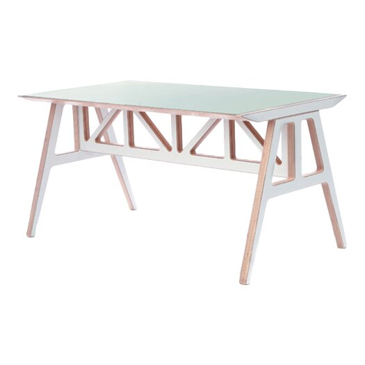 Context Furniture Truss Dining Table