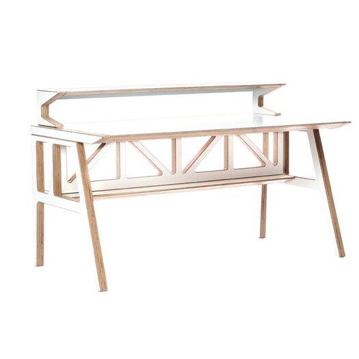 Context Furniture Truss Library Writing Desk