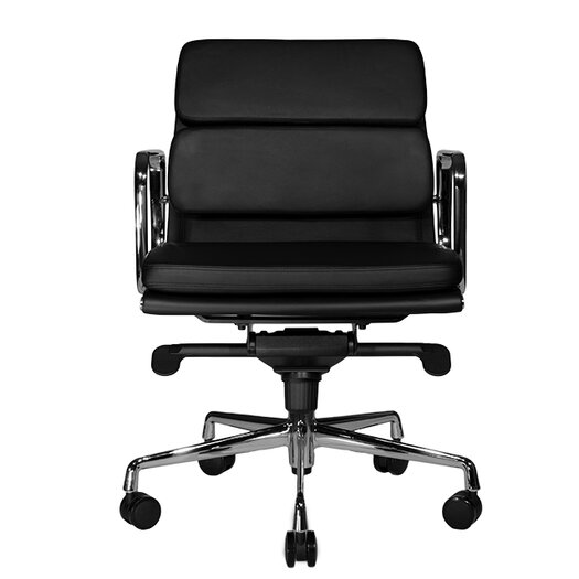 Wobi Office Clyde Low-Back Leather Task Chair