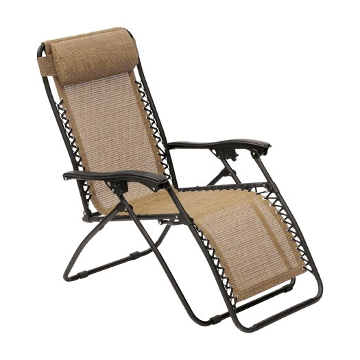 Suntime outdoor living royale gravity chaise lounge for Black friday chaise lounge