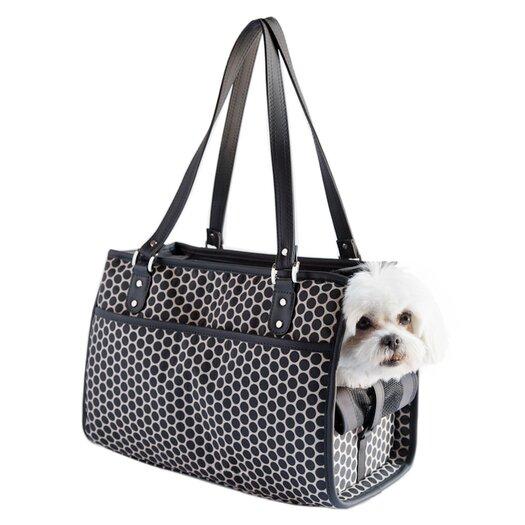 Petote Petote Payton Reverse Noir Dots Dog Carrier