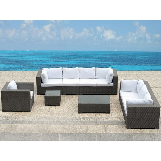 Beliani Maestro 5 Piece Deep Seating Group with Cushion