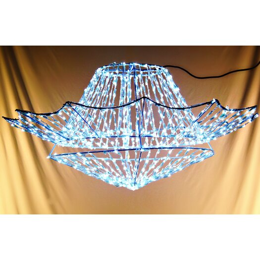 Queens of Christmas 800 Light LED Chandelier