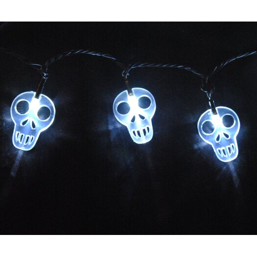 Queens of Christmas 35 Light LED Ghost String Light