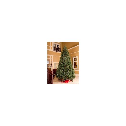 Queens of Christmas 12' Unlit Artificial Fir Tree with Metal Stand