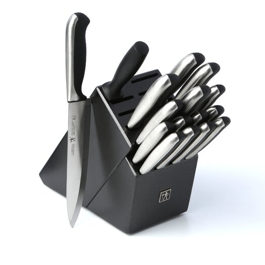 Zwilling JA Henckels International Fine Edge Synergy 17 Piece Knife Block Set
