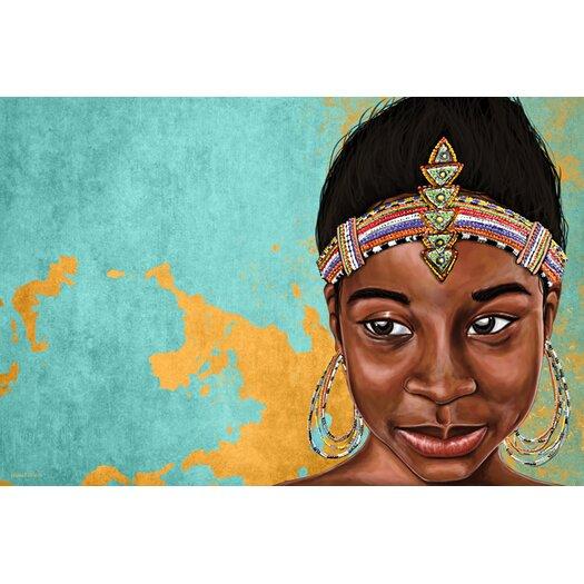 "Maxwell Dickson ""Princess Mauhbohn"" Painting Prints on Canvas"