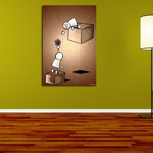 Maxwell Dickson My Flower Graphic Art on Canvas