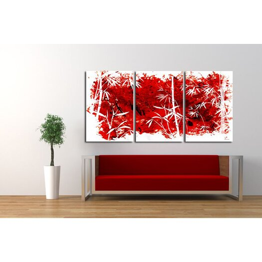 """Maxwell Dickson 3 Piece """"Coming Out"""" Painting Prints on Canvas"""