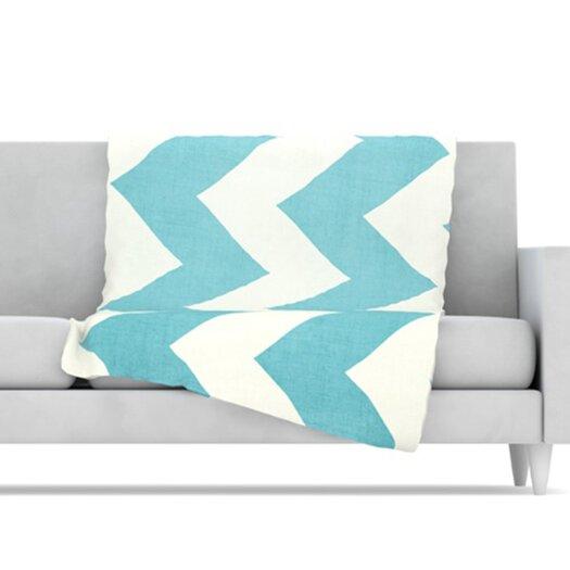KESS InHouse Salt Water Cure Throw Blanket