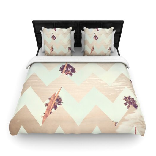 KESS InHouse Oasis by Catherine McDonald Light Duvet Cover