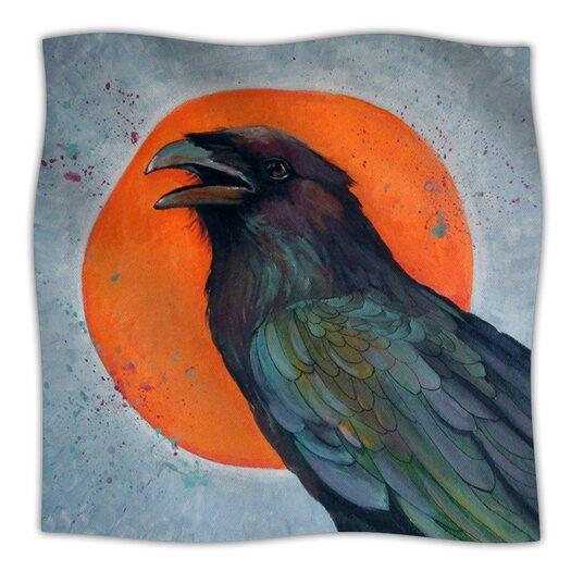 KESS InHouse Raven Sun Throw Blanket
