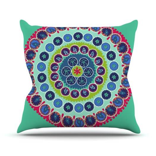 KESS InHouse Surkhandarya Throw Pillow