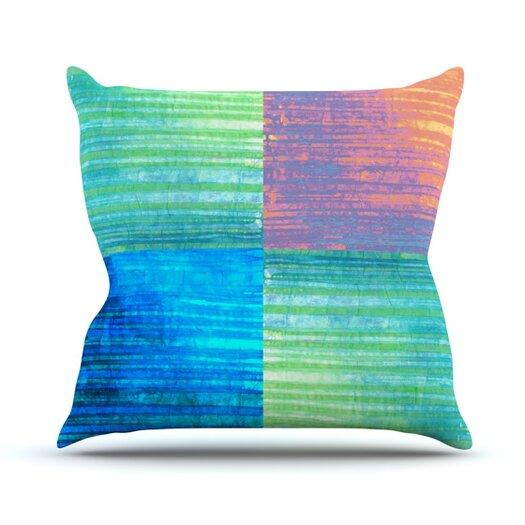 KESS InHouse C BatikThrow Pillow