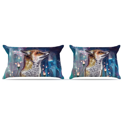 KESS InHouse There is a Light Pillow Case