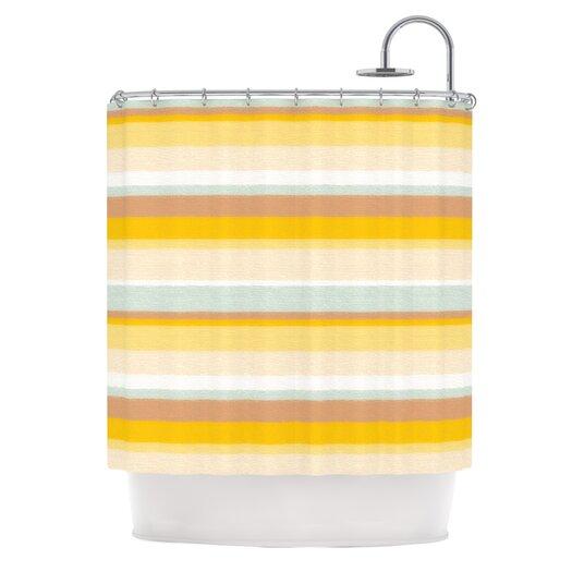 KESS InHouse Desert Stripes Shower Curtain