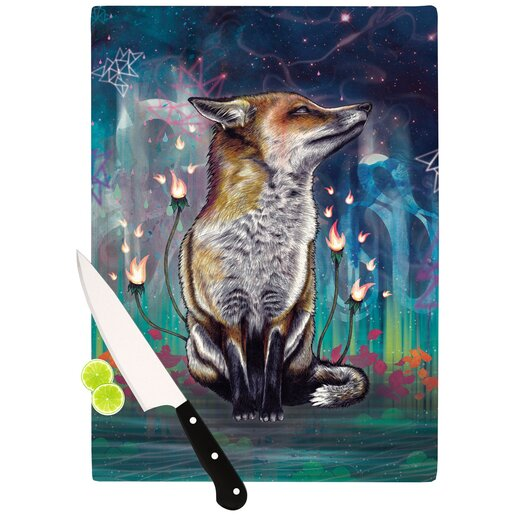 KESS InHouse There is a Light Cutting Board