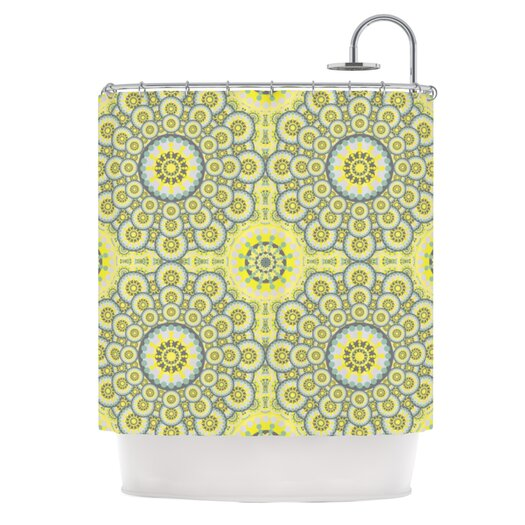 KESS InHouse Multifaceted Shower Curtain