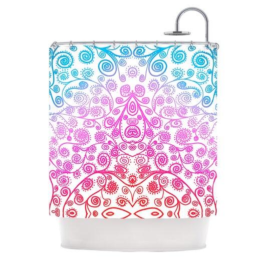 KESS InHouse Safe and Sound Shower Curtain