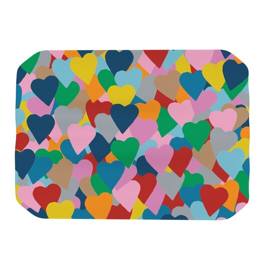 KESS InHouse More Hearts Placemat