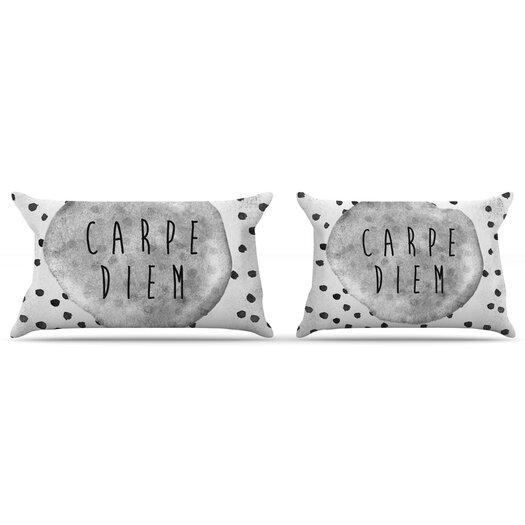 KESS InHouse Carpe Diem Pillow Case