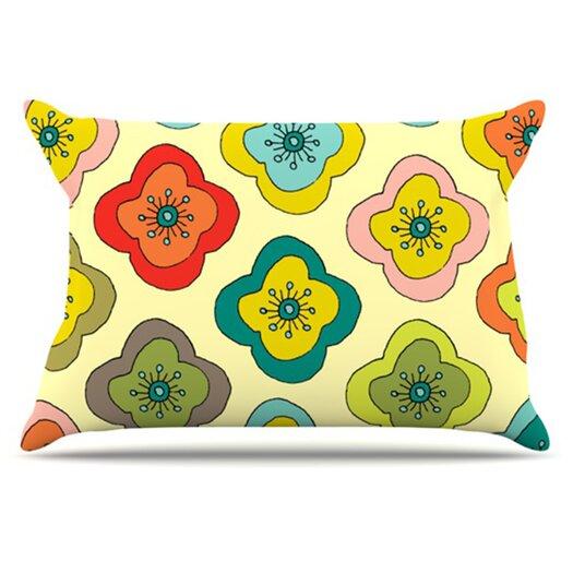 KESS InHouse Forest Bloom Pillowcase