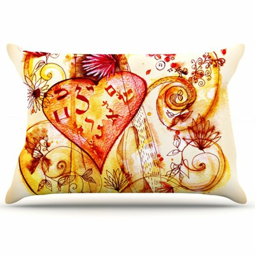 KESS InHouse Tree of Love Pillowcase