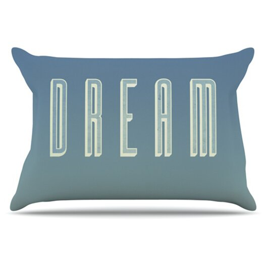 KESS InHouse Dream Print Pillowcase