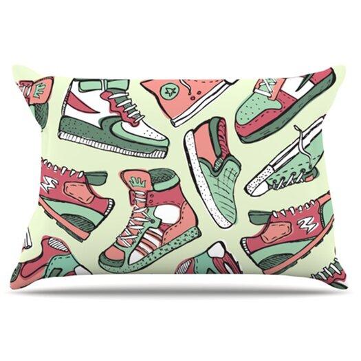 KESS InHouse Sneaker Lover II Pillowcase
