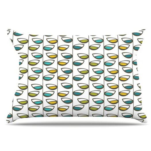 KESS InHouse Spring Stem Pillowcase