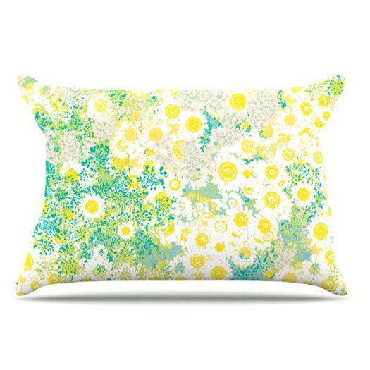 KESS InHouse Myatts Meadow Pillowcase