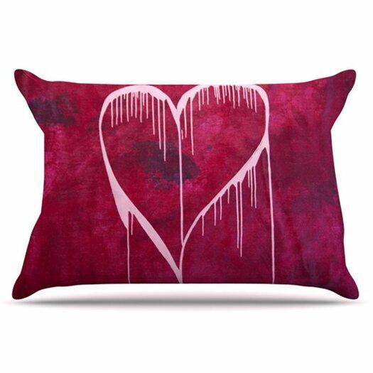 KESS InHouse Miss You Pillowcase