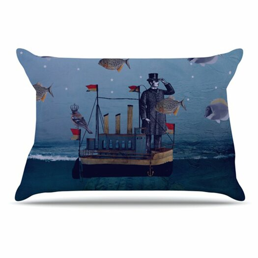 KESS InHouse The Voyage Pillowcase