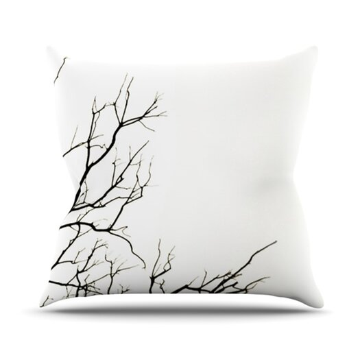 KESS InHouse Winter Throw Pillow