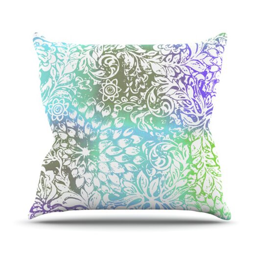 KESS InHouse Bloom Softly for You Throw Pillow