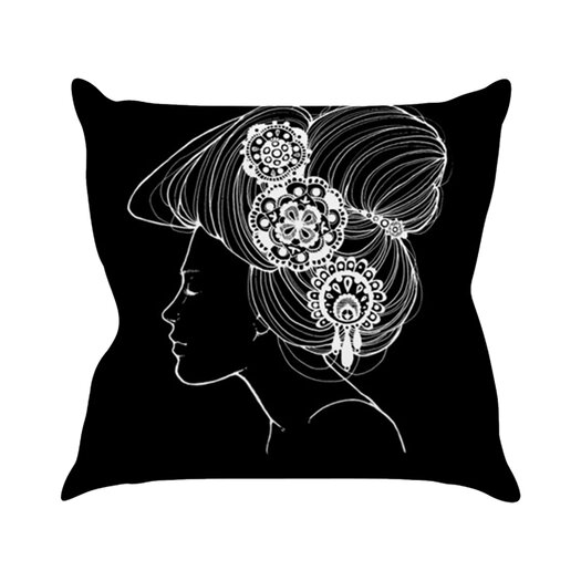 KESS InHouse Organic Throw Pillow