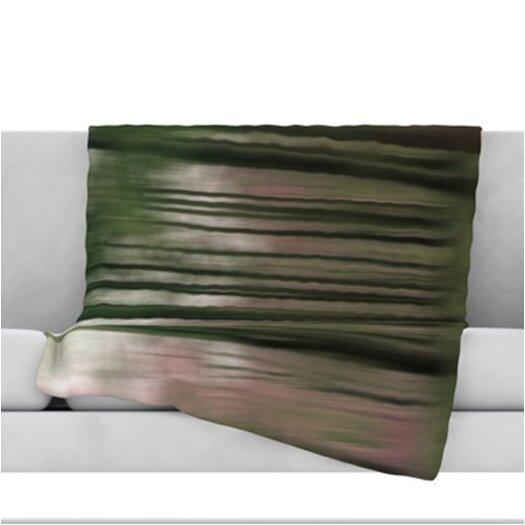 KESS InHouse Forest Blur Throw Blanket