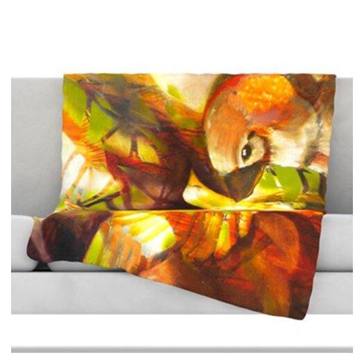 KESS InHouse Memory Fleece Throw Blanket