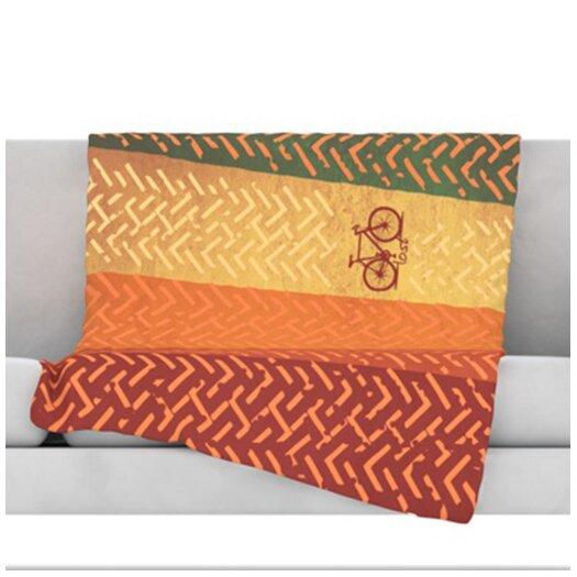 KESS InHouse Lost Throw Blanket