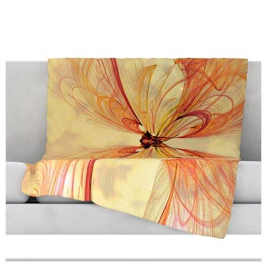 KESS InHouse Papillion Throw Blanket