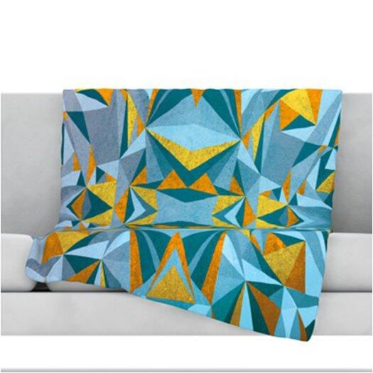 KESS InHouse Abstraction Fleece Throw Blanket