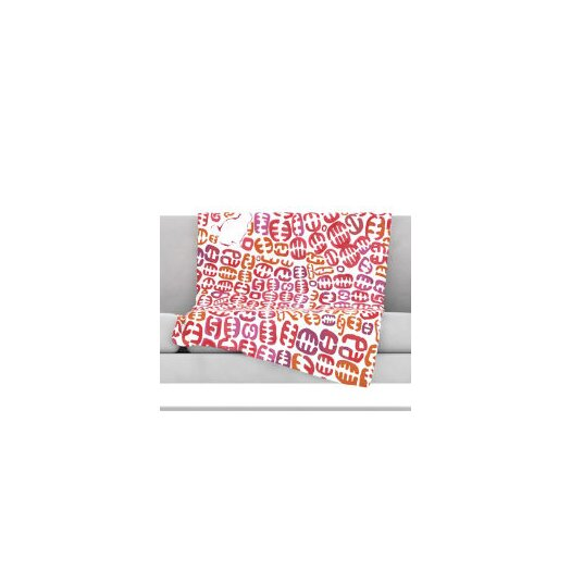 KESS InHouse Oliver Fleece Throw Blanket