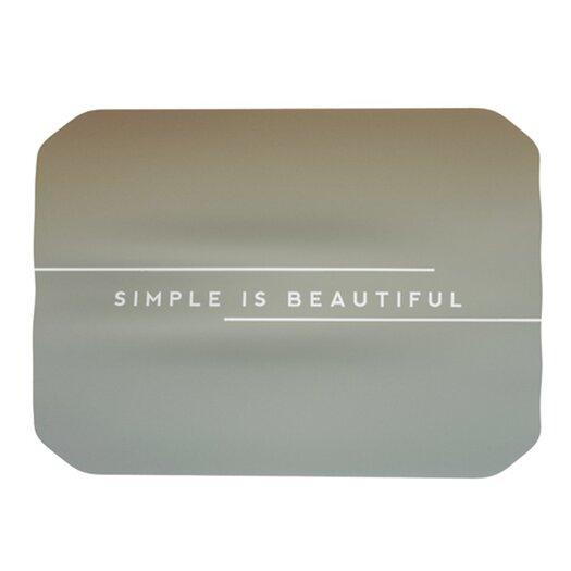 KESS InHouse Simple Beautiful Placemat
