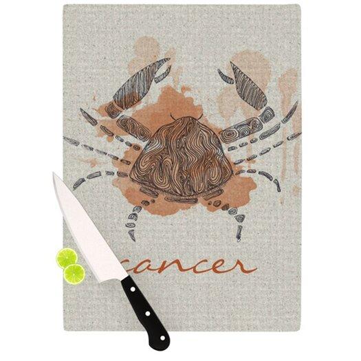 KESS InHouse Cancer Cutting Board