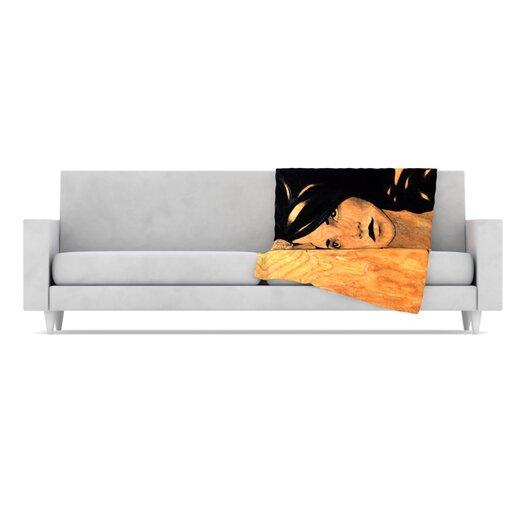 KESS InHouse Bra Throw Blanket