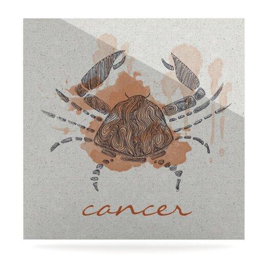 KESS InHouse Cancer by Belinda Gillies Graphic Art Plaque