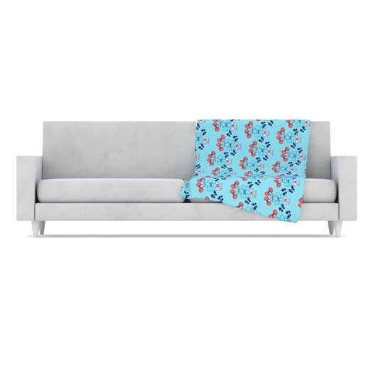 KESS InHouse Bows Throw Blanket