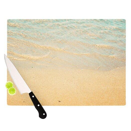 KESS InHouse Ombre Water Cutting Board
