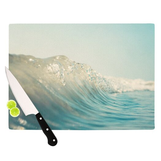 KESS InHouse The Wave Cutting Board