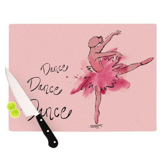 KESS InHouse Ballerina Cutting Board